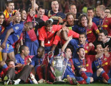 Barça tricampeón