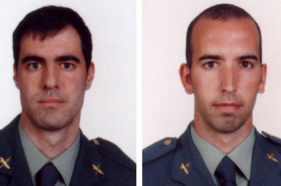 Guardias civiles víctimas de ETA