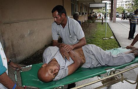 Guillermo Fariñas en huelga de hambre