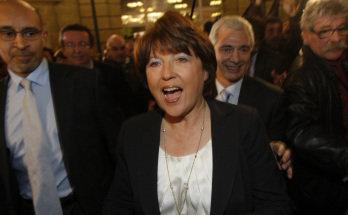 Martine Aubry, líder socialista francesa