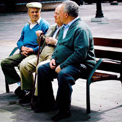 Grupo de pensionistas