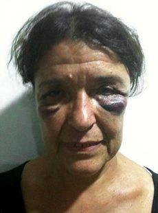 Carmen Roger, una de las activistas retenidas en El Aium