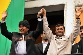 Evo Morales y Ahmadineyad