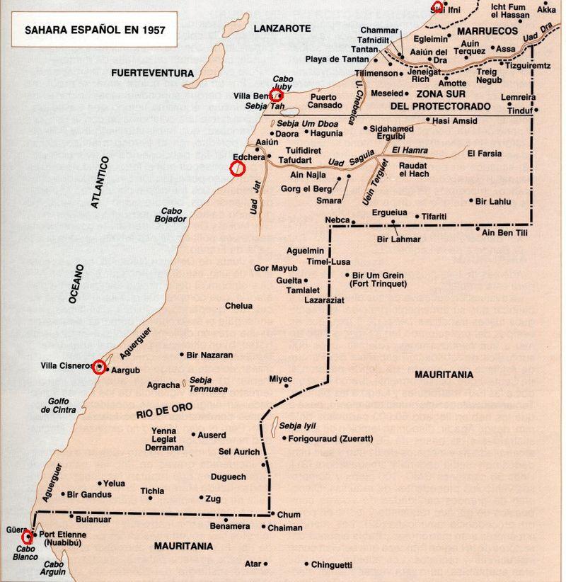 Antigua colonia española del Sahara