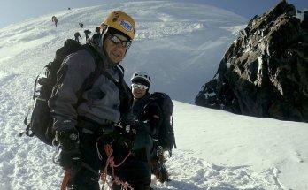 El montañero fallecido, Tolo Calafat, ascendiendo el Mont Blanc en 2009