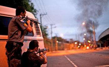 Ríio de Janeiro, tiroteos entre policias y narcos