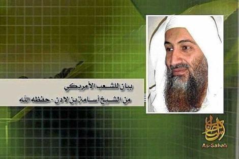 Bin Laden en una grabación de 2009