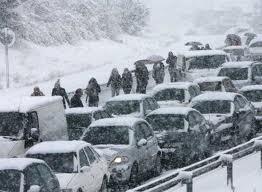 Frío en toda España