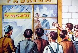 Más parados en España que en el resto de la UE