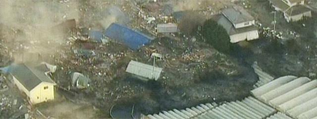 Efectos del tsunami en las cosas de Japón